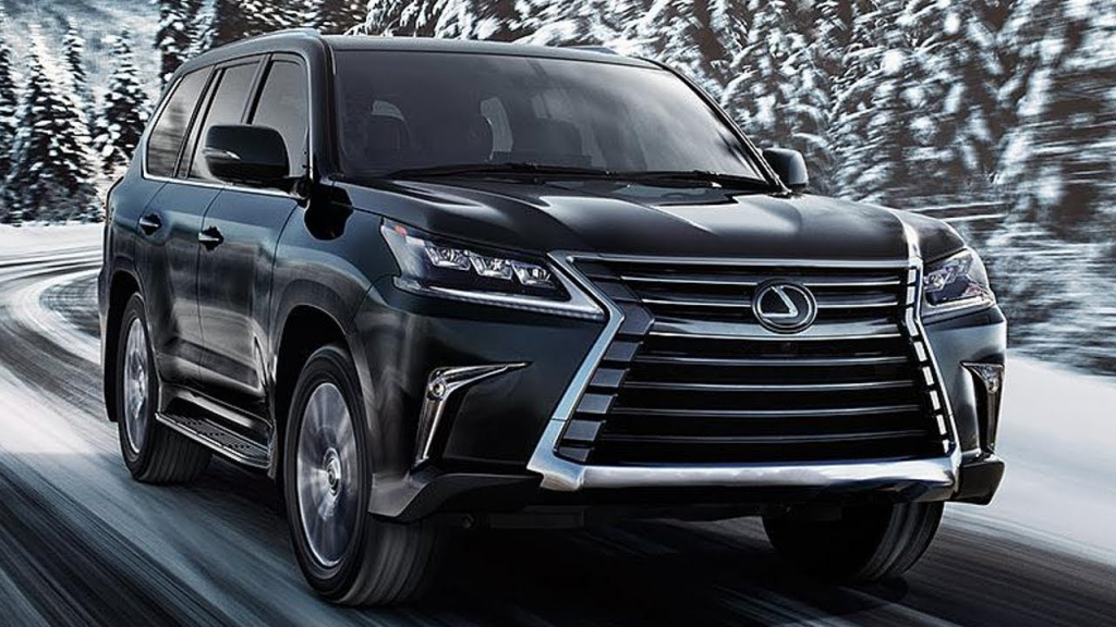 2021 Lexus LX Spy Photos | SUV Models
